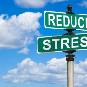 Combatting Holiday Stress | reduce stress road signs