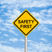 Safety First sign | single-phase compressor